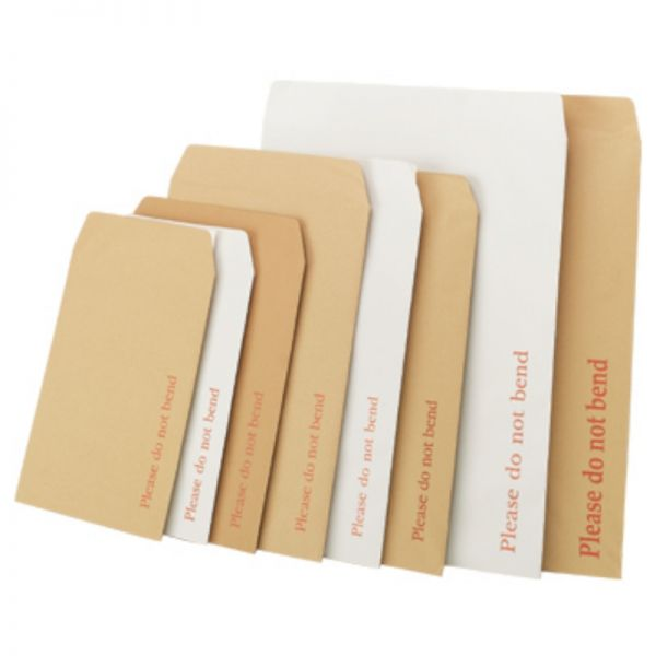 Crestar Cardboard Envelopes and Mailers