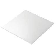 0.75mm Challenger White Centred Card Display Board