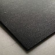 Black Pinseal Embossed Economy Grade ABS Sheet
