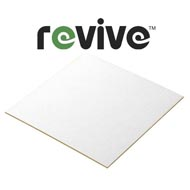 2mm Revive Recycled White Centred Card Display Board