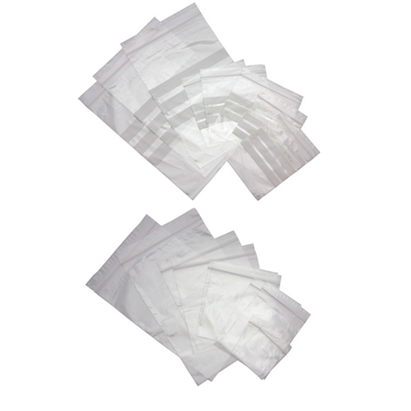 Clear Plain Grip Seal Polythene Bags