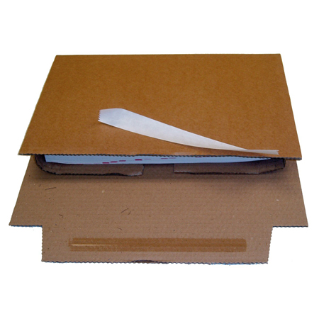 Corrugated Book Wrap Mailer Boxes