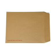 Manilla Card Backed Envelopes