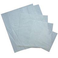 Medium Gauge Clear Polythene Bags