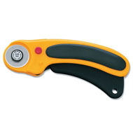 Olfa RTY-1/DX 28mm Deluxe Ergonomic Rotary Cutter