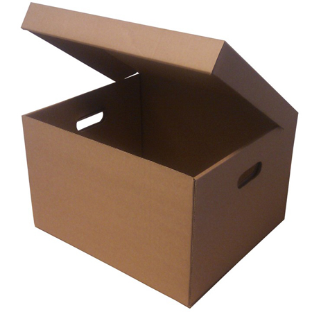 Single Wall One Piece Cardboard Archive Boxes