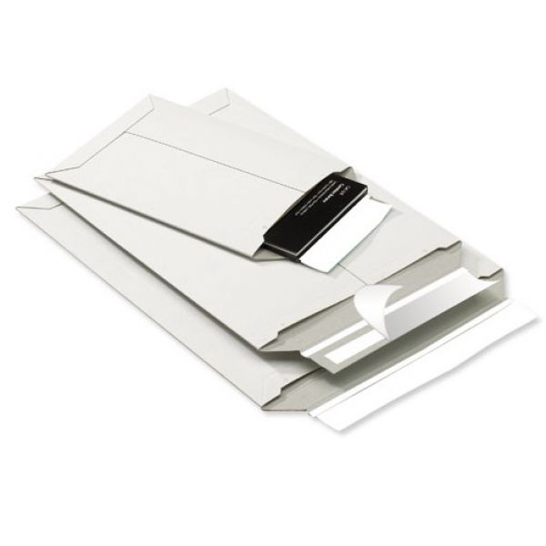 White Cardboard Envelopes