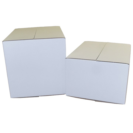 White Single Wall Cardboard Cartons