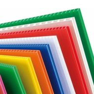 4mm Correx Coloured Fluted Polypropylene Sheet